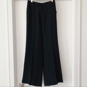 3.1 Phillip Lim - Wide Leg Black Trousers, Size 4